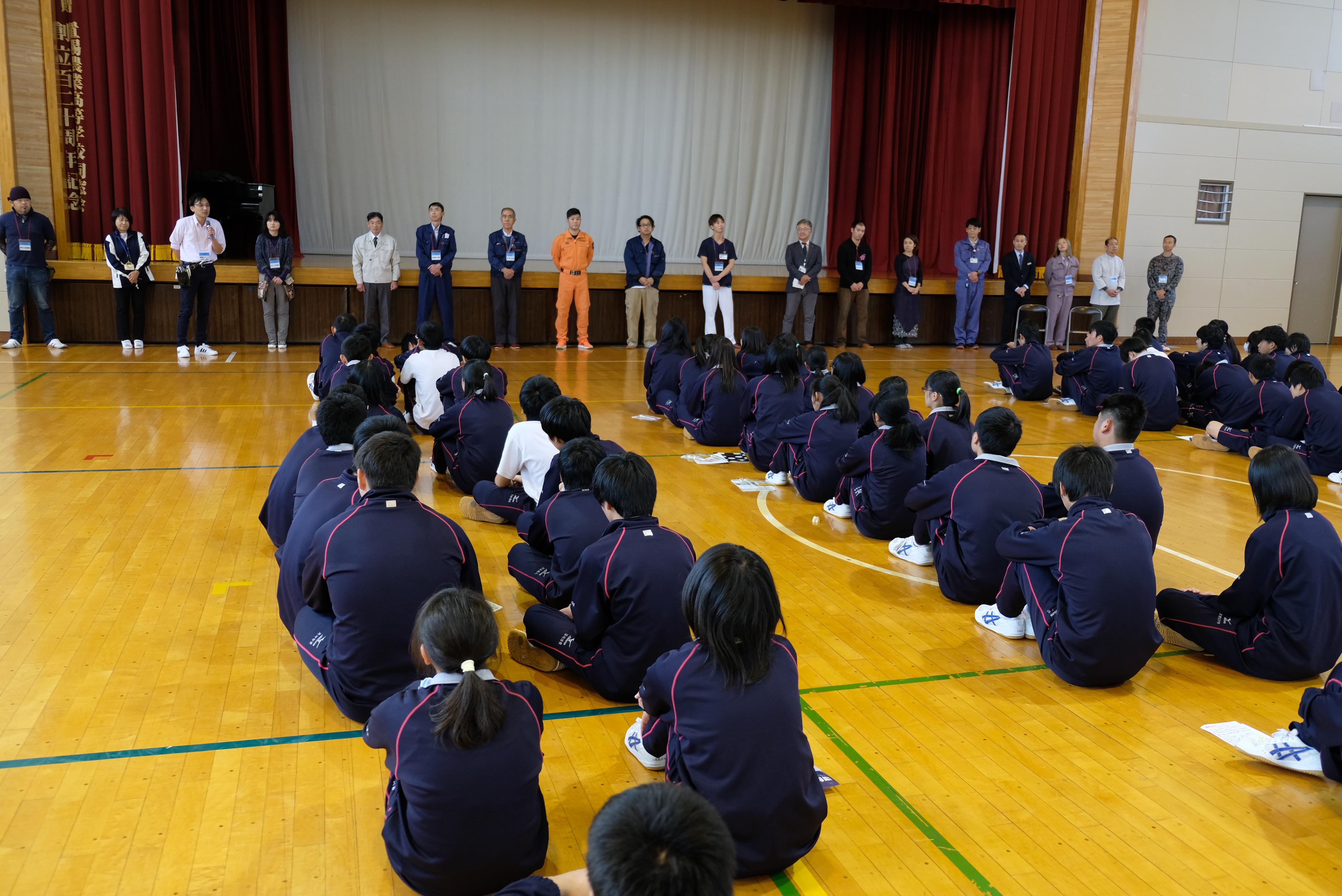 WAKU WAKU WORK(ワクワクワーク) in置賜農業高校 初開催!